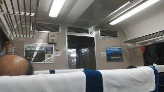 白鳥号青森行き 大阪発車後案内(再現)
