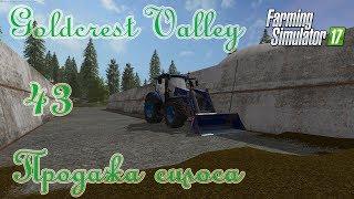 Farming Simulator 17, карта Goldcrest Valley, прохождение, #43 Продажа силоса