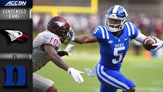 North Carolina Central vs. Duke Condensed Game | 2018 ACC Football