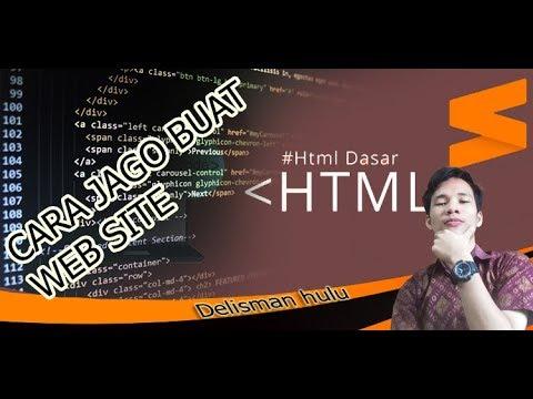 #Ngoding Cara Mudah Memahami Dasar HTML  Web Site TAG,ELEMEN DAN ATRIBUT Part 2