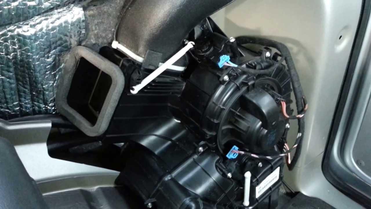 2006 Vw Passat Ac Wiring Vw T5 Rear Heater Actuator Controls Youtube