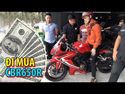 PKL    Đi mua xe mô tô HONDA CBR650R 2019