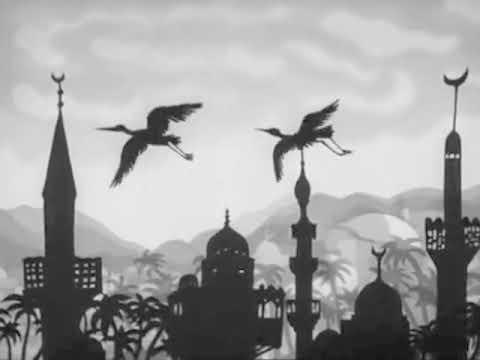 The Caliph Stork | Lotte Reiniger, scored by Dungen