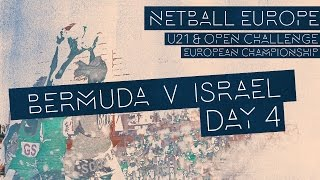Bermuda v Israel l Netball Europe Invitational Section 2017