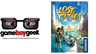 Lost Cities: Rivals Review with the Game Boy Geek