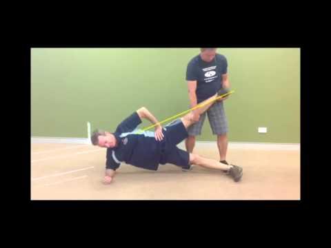 Copenhagen Hip Adduction Exercise