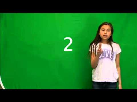 Kailyn Rutherford - COUNTING 1 to 10 - Blackfoot Language Lessons