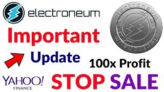 Important Update Electroneum Coin Urgent Notice By Company Token Sale has now ended Hindi/Urdu