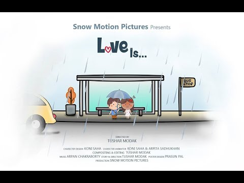 Web Series | Cute short love story | Love is... Teaser | Snow Motion Pictures