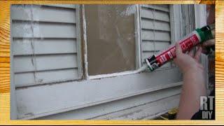 How to Fix A Broken Window Pane ~ Rick's Tips DIY