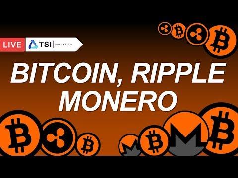 BITCOIN, RIPPLE, MONERO. Торговые рекомендации   Прогноз цены на Биткоин, Криптовалюты