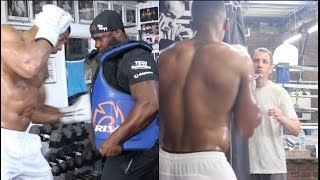 ANTHONY JOSHUA POWER TRAINING.