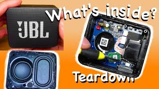 Look inside JBL GO2 - Teardown