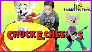 ryan s toy review inspired   chuck e cheese family fun indoor playground toys games for kids