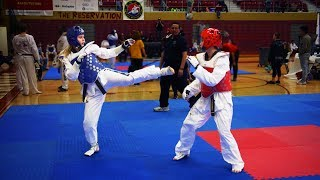 Download Video How to Beat a Front Leg Fighter (TKD SPARRING) MP3 3GP MP4