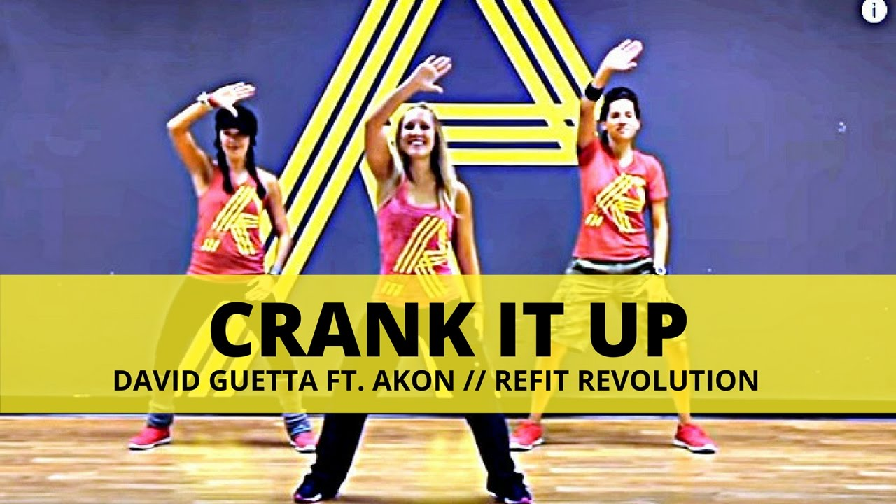 musica david guetta feat.akon - crank it up