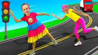 Maya learns the rules of the road - Traffic Safety song for children