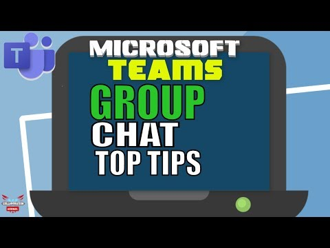 Microsoft Teams Group Chat Best Practices (Teams Tutorial)