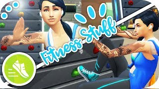 THE SIMS 4 | FITNESS STUFF💪 | OVERVIEW – CAS, BUILD & BUY, GAMEPLAY!