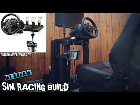 Diy sim racing build (wood) | impian pembalap virtual ^_^ | Sim racing Indonesia