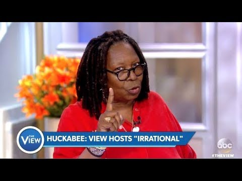 Whoopi To Mike Huckabee 'Ive Never Been Irrational' (The View)
