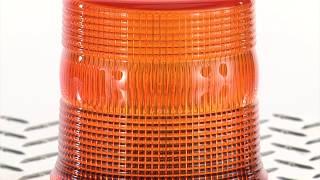 Ironton Magentic Mount Strobe Warning Beacon - 12 Volt DC, Amber