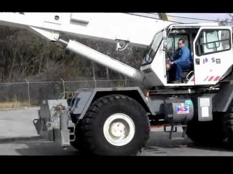 TEREX RT450 50 TON CAPACITY ROUGH TERRAIN CRANE