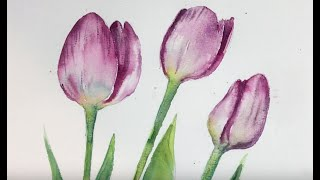 How To Paint Watercolour Flowers Step By Step Includes Useful Tips