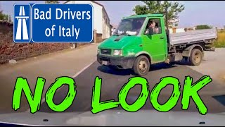 BAD DRIVERS OF ITALY dashcam compilation 07.09