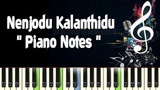 Nenjodu Kalanthidu (kadal konden) Piano Notes, Midi File, Music Sheet and Karaoke