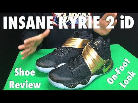 d501cf605d2 Kyrie 2 CHAMPIONSHIP iD Shoe Review + On-Foot Look - YouTube