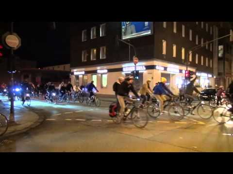 Critical Mass Wuppertal - Januar 2016