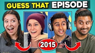 Do YOU Know Old React Episodes? (Impossible FBE Challenge)