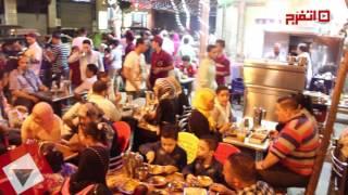 اتفرج| احتفالات المصريين في العيد