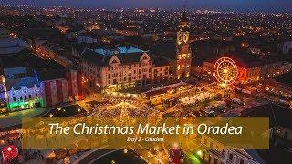 The Christmas Market in Oradea , Romania
