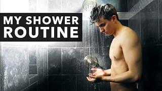 WHAT'S IN MY SHOWER? [2017] +  Mens Haircare & Skincare Tips
