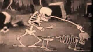 puttin' on the dog skeleton dance