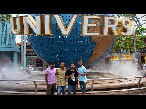 An Awesome day at Universal Studios | Singapore Travel Vlog Day2
