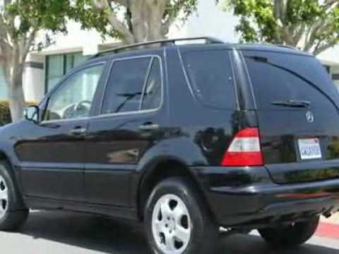 2002 mercedes benz m class ml320 suv youtube for Mercedes benz ml320 suv