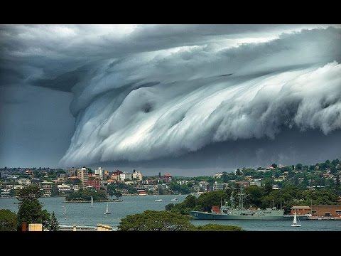 Онлайн съёмки цунами