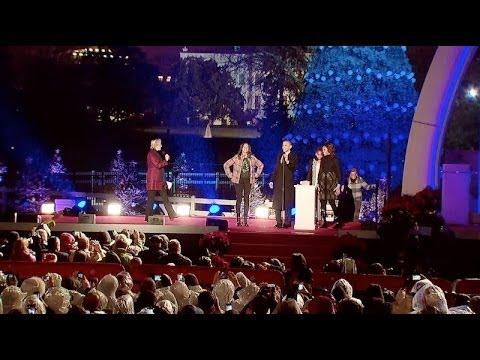 national christmas tree lighting ceremony 2013 youtube - White House Christmas Tree Lighting