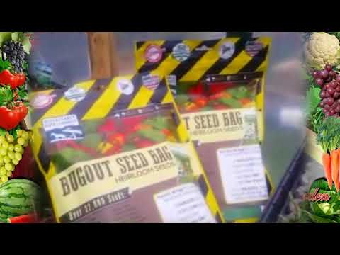 Seed Vault Giveaway - Non GMO Organic Seeds Video