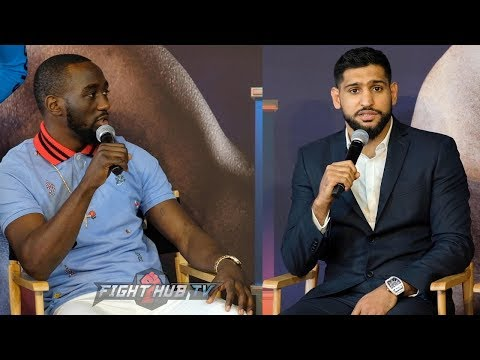 FULL PRESSER - TERENCE CRAWFORD VS. AMIR KHAN NEW YORK PRESS CONFERENCE & FACE OFF