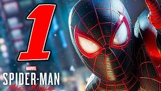 SPIDER-MAN MILES MORALES [Walkthrough Gameplay ITA PS5 - PARTE 1] - SPIDERMAN È TORNATO!