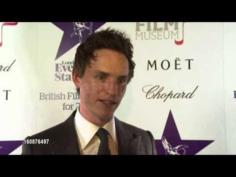 Eddie Redmayne - Les Miserables and award season London Evening Standard Film Awards 2013