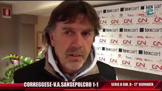 Serie D Girone D Correggese-V.A.Sansepolcro 1-1