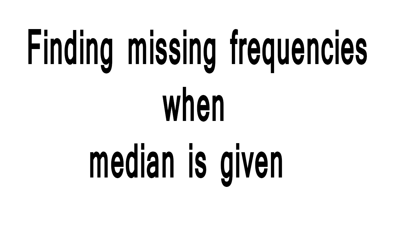 Finding missing frequency when media is given hindi youtube finding missing frequency when media is given hindi ccuart Images