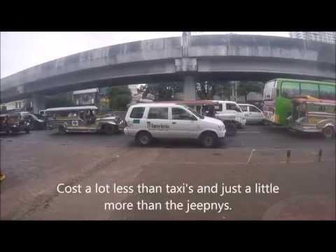UV (FX) Express Services, Manila Philippines.