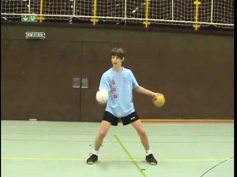 Handball Torwarttraining Koordination