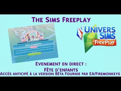 The Sims Freeplay - Evénement Fête d'enfants - Accès Anticipé